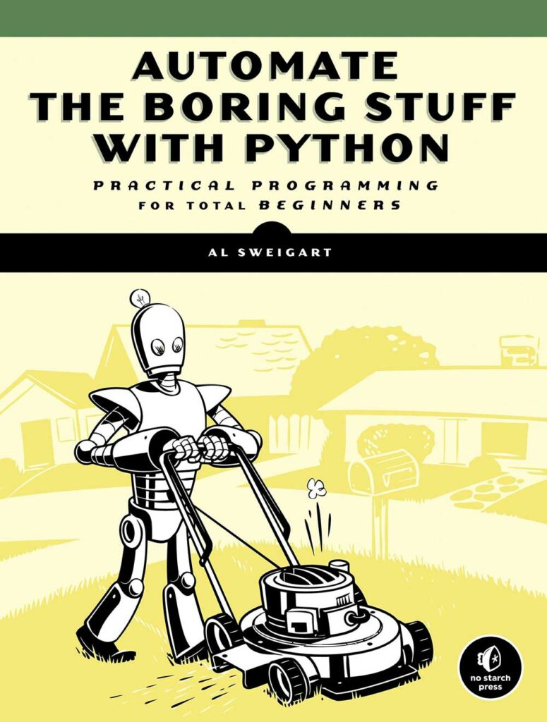 1.Automate the boring stuff