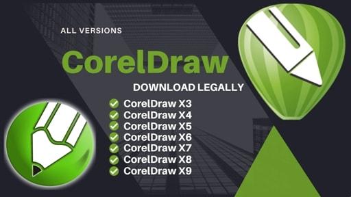 نسخه های مختلف نرم افزار کورل دراو