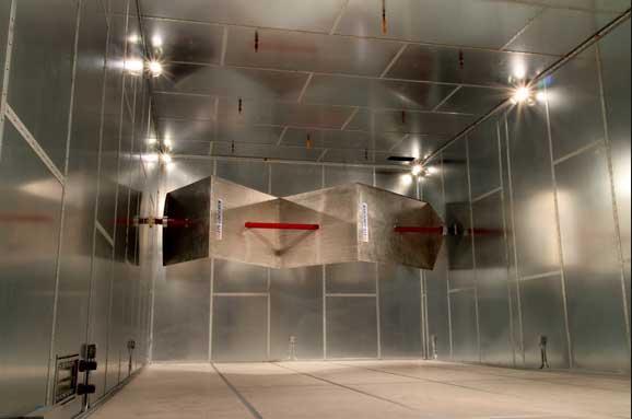 اتاقهای بازتابی (RC) تست سازگاری الکترومغناطیسی