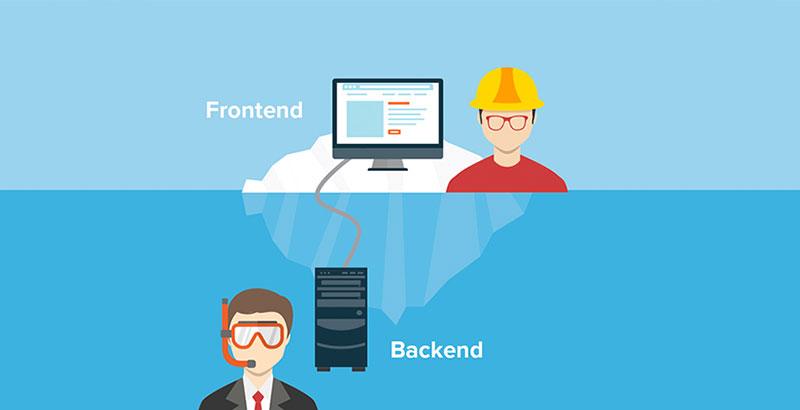 تفاوت frontend و backend در چیست