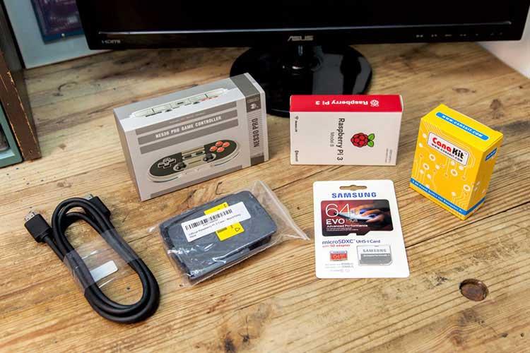 مراحل راه اندازی کنسول بازی با Raspberry Pi