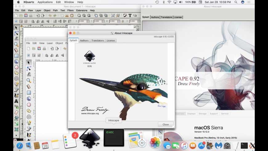 کاربرد نرم افزار Inkscape چیست