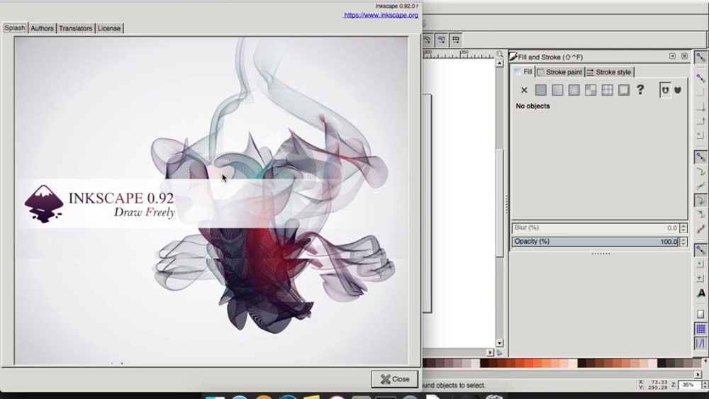 مزایای گرافیک برداری نرم افزار Inkscape چیست