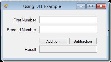 صفحه تستی برای آزمایش DLL
