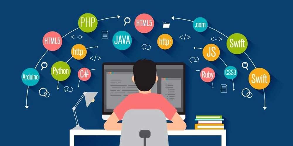 زبان های برنامه نویسی مربوط به بک اند