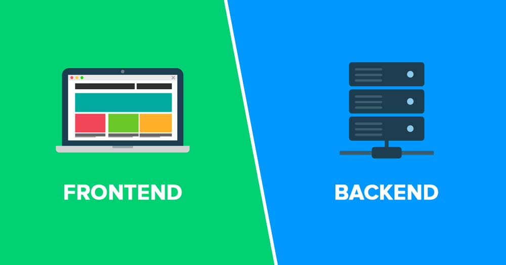 تفاوت برنامه نویس بک اند و فرانت اند