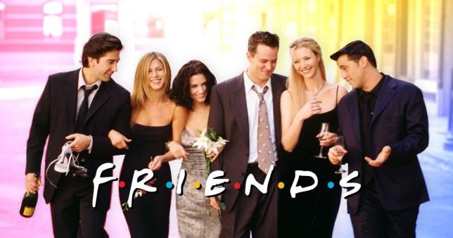 friends سریال برای تقویت زبان