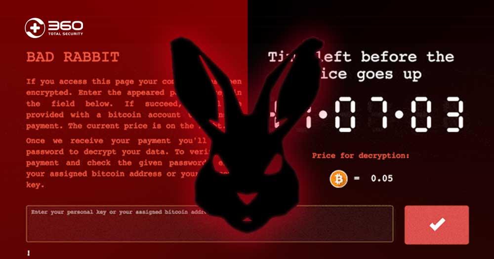 تاریخچه باج افزار خرگوش بد