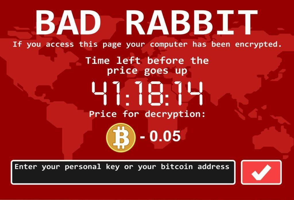 باج افزار خرگوش بد چگونه حمله میکند