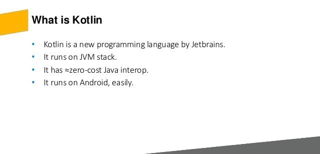 مهمترین ویژگیهای زبان برنامهنویسی کاتلین چیست