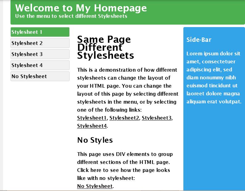 چگونه با Css طراحی سایت کنیم
