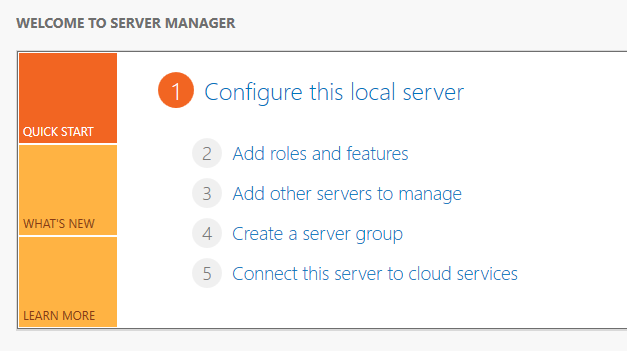 قابلیتهای سرور منیجر و تاثیر سرویسهای مختلف در مدیریت سرور