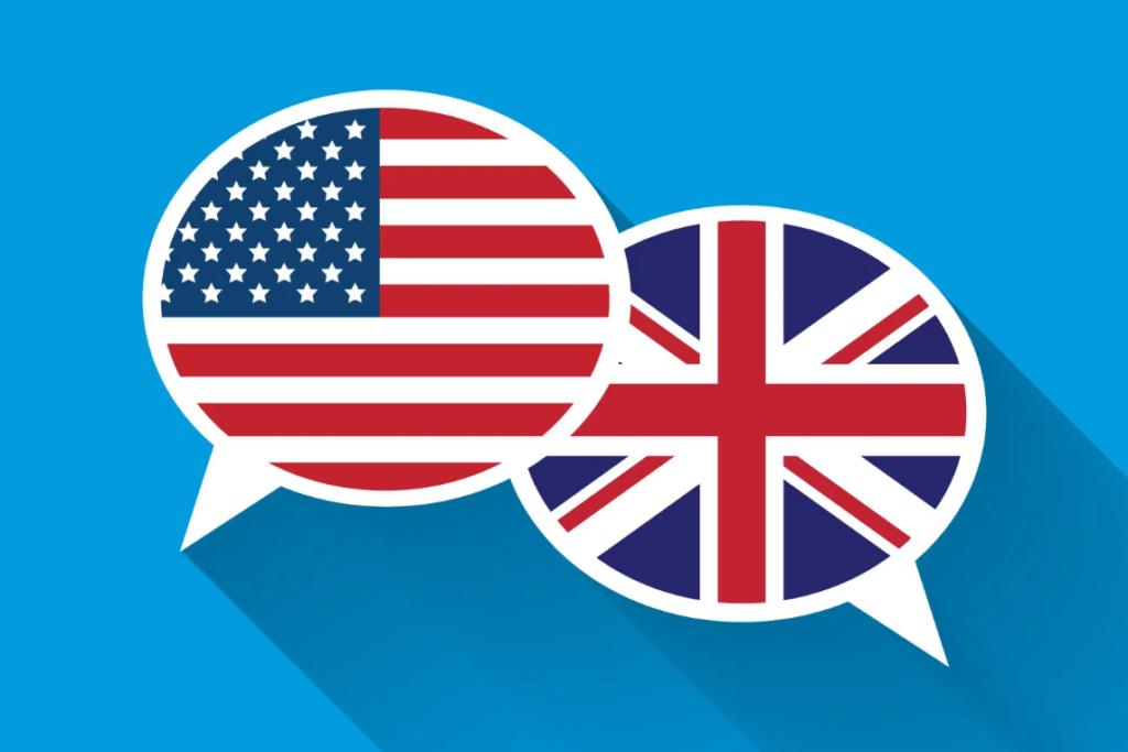 لهجهی آمریکایی و بریتیش