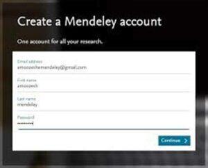 نرم افزار Mendeley
