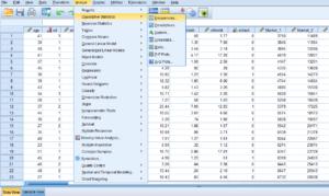 تحلیل آماری با نرم افزار SPSS