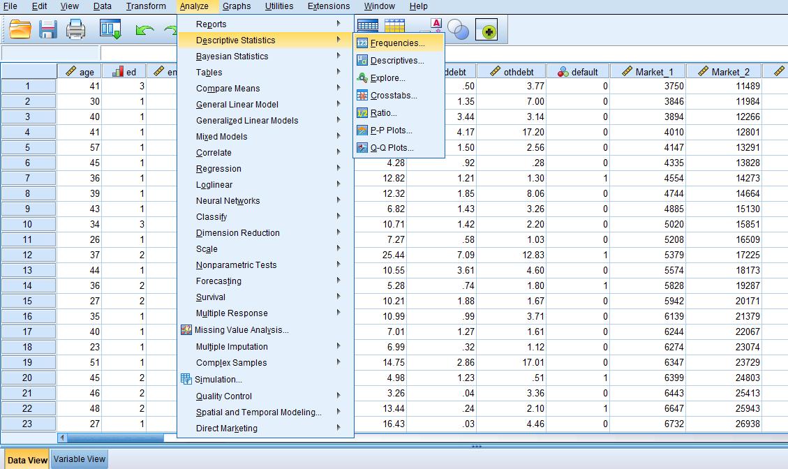 آموزش تحلیل آماری پایان نامه با نرم افزار SPSS 