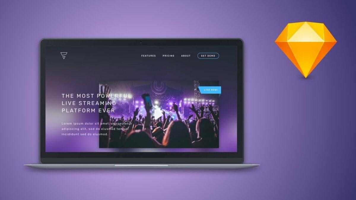 چگونه با اسکچ طراحی سایت کنیم؟