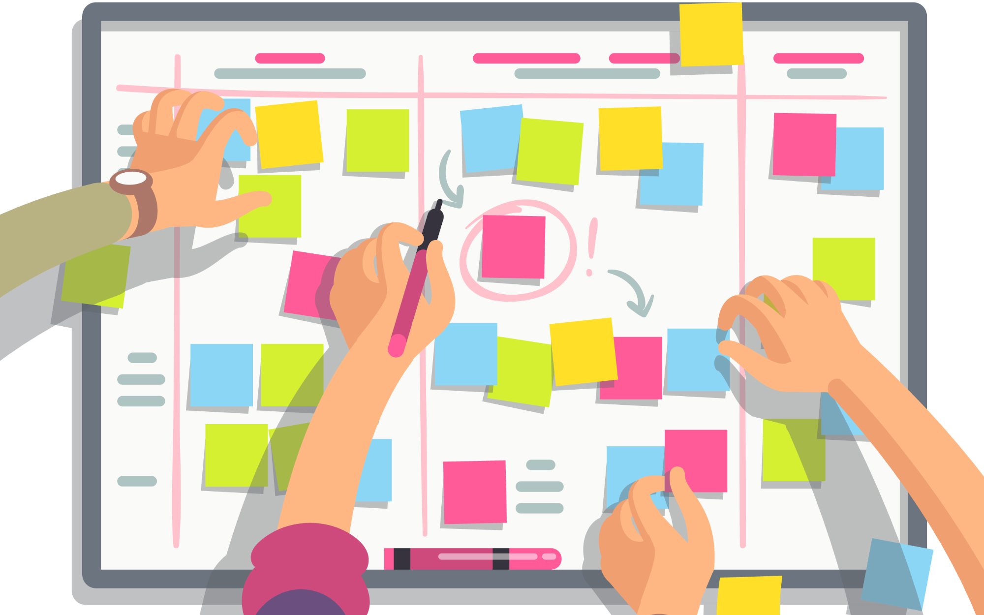 رکنهای اصلی مدیریت پروژه اسکرام