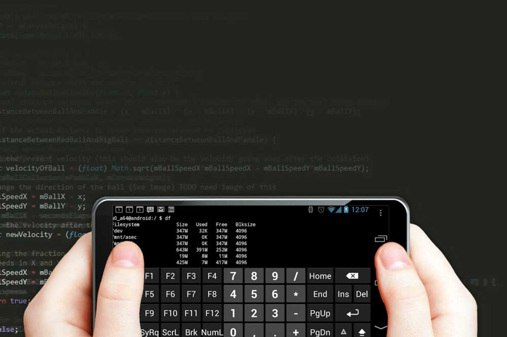 چگونه با گوشی برنامه نویسی کنیم