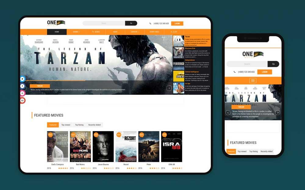 چگونه طراحی سایت فیلم را بهینه کنیم؟