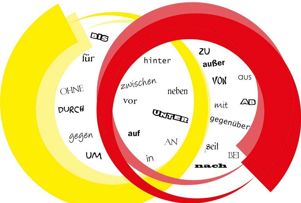 انواع حروف اضافه در زبان آلمانی و کاربردهای آنها همراه با مثال