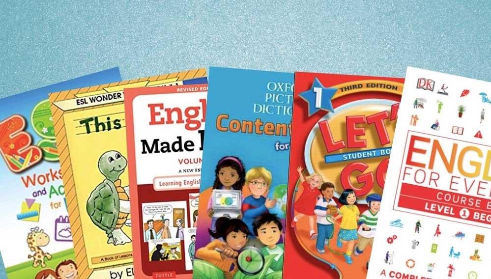 معرفی بهترین کتاب آموزش زبان انگلیسی برای کودکان